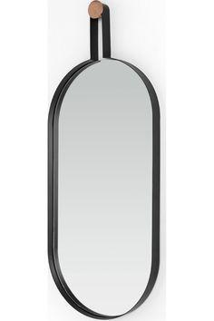 Cira 100 x 50 cm Wall Mirror, Black & Copper Oval Mirror, Black Mirror, Wall Decals, The 100, Copper, Bathroom, Mirrors, Bliss, Delivery
