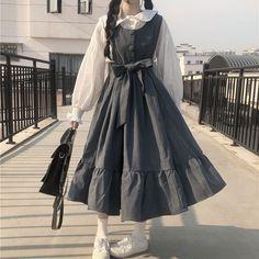 Cute Casual Outfits, Pretty Outfits, Pretty Dresses, Beautiful Dresses, Kawaii Fashion, Lolita Fashion, Cute Fashion, Old Fashion Dresses, Fashion Outfits