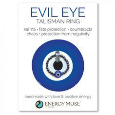 Evil Eye Talisman Ring
