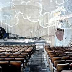 Fallen Screen, Proctor's Theater, New Jersey © Lindsay Blair Brown