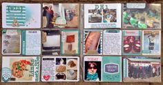 Week 13 using Becky Higgins Aqua Core Kit, made by MiaKL for Scrap-Perra.