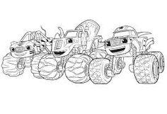 Resultado De Imagen Blaze And The Monster Machines Coloring Pages Nick Jr