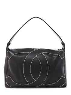 Black Caviar Big CC Hobo Bag from Luxe Sport Feat. Vintage Chanel on Gilt