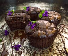 Chickpeas, chocolate and tahini muffins1 cup cooked chickpeas (approx. 200 g or 1 can)