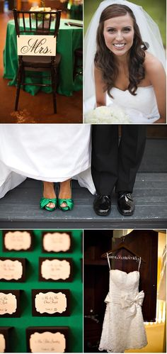 #emerald #wedding Magnolia Wedding by Sharon Nicole Photography   Style Me Pretty