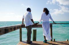 Enjoying the ocean at Taino Beach, Freeport, Grand Bahama, The Bahamas