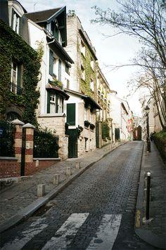 Rue Corot, Clignancourt-Jules Joffrin, Paris, Île-de-France_ France