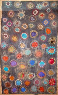 Traveller's Blanket, Dijanne Cevaal. This screams rug to me.