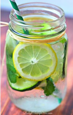 The Best Detox Water Recipes! | Budget Savvy Diva