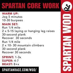 Spartan challenge