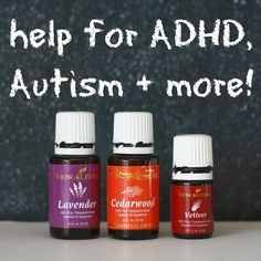 cedarwood, lavendar and vetiver for concentration and hyperactivity...???