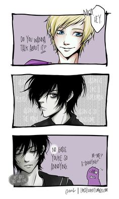 The day Jason Grace got rejected by Nico di Angelo by germanmissiles.deviantart.com on @deviantART
