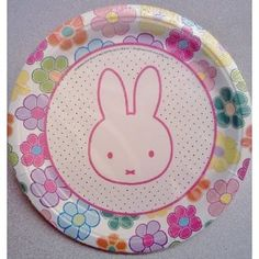 """Miffy Bunny Rabbit Birthday Party 9"""" Dinner Plates ~ 12 count (Toy)  http://www.picter.org/?p=B007R92848"""