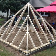 Pyramid Greenhouse Project pt. 3 #DIYproject