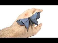 Origami Alexander Swallowtail Butterfly tutorial (Michael Lafosse) 折り紙 蝶 Schmetterling mariposa - YouTube