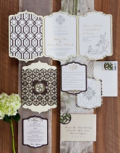 A touch of Luxe: Wedding inspiration: Moroccan inspired invitations