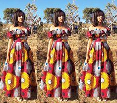 Khosi Nkosi dress. ❤️🌺💋