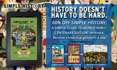 68% off Simple History: WWI  http://www.amazon.co.uk/Daniel-Turner/e/B00H5TYLAE/ref=ntt_athr_dp_pel_1