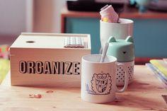 Mood de hoje organize.  Today's mood.. organize.