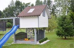 MLS.blog: Domek drewniany dla dzieci #2