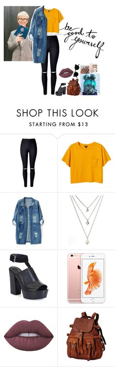 """Outfit-KPOP~Rap Monster♥"" by ayme-vecha ❤ liked on Polyvore featuring WithChic, Monki, Chicnova Fashion, Rebecca Minkoff, Lime Crime, outfit, women, bts and rapmonster"