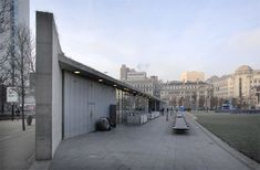 Piccadilly Gardens Pavilion Manchester by Tadao Ando