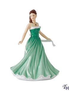 Royal Doulton Birthstone Petites May - Emerald