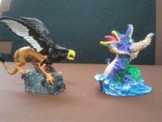Grifo y dragon marino