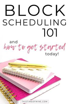 Block Scheduling What It Is, Why It Works And How To Get Started Do you ever wish you could get MORE done in a day? Find out how block scheduling will increase your productivity AND help you find more time for fun and relaxation! Time Management Planner, Good Time Management, Effective Time Management, Time Management Strategies, Block Scheduling, Productivity Hacks, Increase Productivity, Planning Your Day, How To Stop Procrastinating