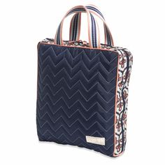 Cosmetic Bag II- Vertical, Neptune @organizingstore