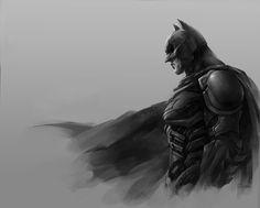 the dark knight by linxz2010.deviantart.com on @deviantART