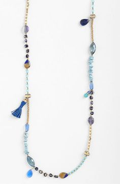 Sara Bella Extra Long Bead Necklace | Nordstrom