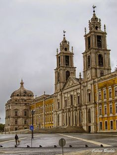 Palace and Convent of Mafra - near Lisbon Ericeira Portugal, Sintra Portugal, Visit Portugal, Spain And Portugal, Portugal Travel, Places To Travel, Places To Visit, Portuguese Culture, The Beautiful Country