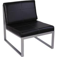 Costco: Alera Reception Lounge Series Cube Chair Black