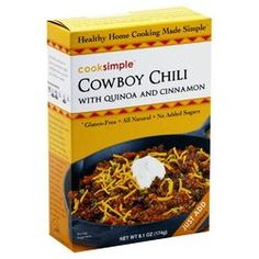 Cooksimple - Quinoa Chili Cowboy (Pack of 6)
