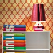 Cindy coool pink table lamp by Kartell