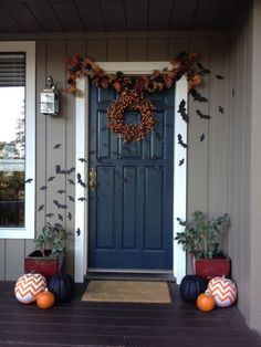 the best 35 front door decors for this year's halloween  front door