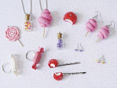 Polymer Clay Sweets, Polymer Clay Jewelry, Biscuit, Crea Fimo, Kit Diy, Clay Figurine, Clay Tutorials, Quilling, Diy And Crafts