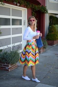 full skirt with tennis shoes White Tennis Shoes, Tennis Shoes Outfit, Modest Fashion, Fashion Outfits, Skirt Fashion, Women's Fashion, White Keds Outfit, Taylor Swift Outfits, Casual Outfits