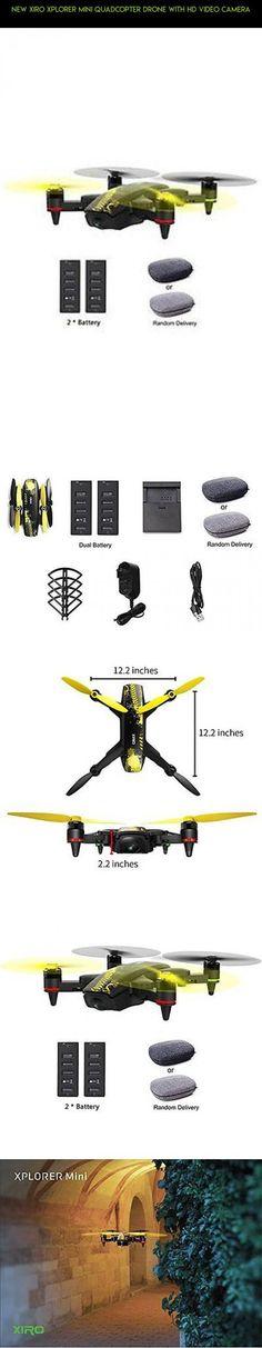 NEW Xiro Xplorer Mini Quadcopter Drone with HD Video Camera #technology #fpv #products #gadgets #mini #xiro #kit #drone #racing #tech #camera #plans #shopping #parts
