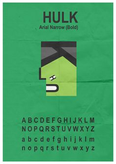 Hulk Typeface by ~mattcantdraw on deviantART User Profile, Hulk, Deviantart, Incredible Hulk
