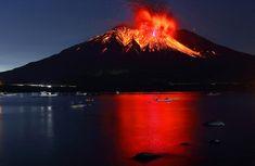 Sakurajima Volcano -Takehito MIYATAKE - 宮武 健仁