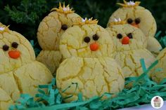 Lemon Chick Peepers ... so easy...