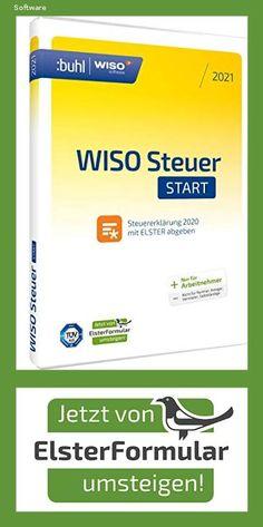 WISO Steuer-Start 2021 (für Steuerjahr 2020 | frustfreie Verpackung) jetzt mit automatischem Umstieg von Elsterformular - 1519 Software, Magpie, Save My Money, Finance, Packaging