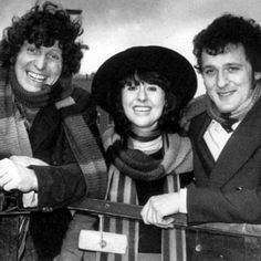 The Fourth Doctor, Sarah Jane Smith and  Harry Sullivan -- Genesis of the Daleks -- a very winning Team TARDIS