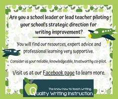 Quality Writing Instruction is here to help you lead your school's strategic direction for writing improvement through our expert advice, professional learning and quality resources.  Not sure where to start?  Start with us!  #Australianteachers #teachingwriting #writingteachers Teaching Writing, How To Know, Knowledge, Teacher, Advice, Learning, School, Professor, Tips