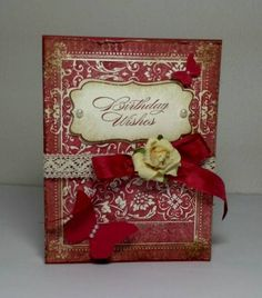 Victorian Birthday by dahlia19 - Cards and Paper Crafts at Splitcoaststampers