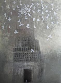 Alexey Terenin - this makes me think of peace, must be all the white doves