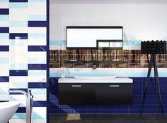 Ape Loft Cobalto 10x30 cm Tiles, Bathtub, Loft, Bathroom, Cobalt, Room Tiles, Standing Bath, Washroom, Bathtubs