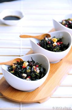 Japanese Hijiki dish - Hijiki is a brown sea vegetable high in calcium. It has a crisp, mild and nutty flavor.